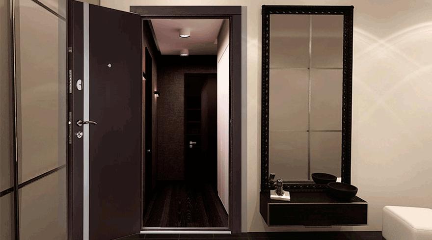 стандартные и нестандартные размеры входных металлических дверей